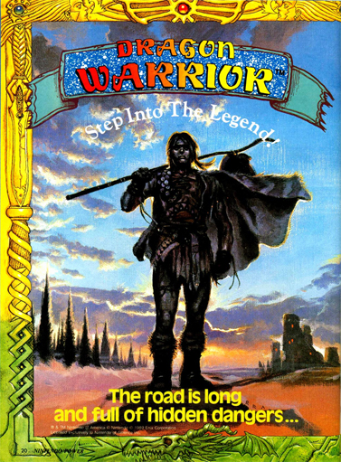 dragon warrior nintendo power alefgard