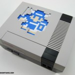 custom dragon warrior quest nes nintendo case mod platinum fungi platinumfungi led