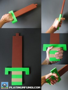 platinumfungi, wooden sword, 8-bit, legend, zelda, diy, how, make