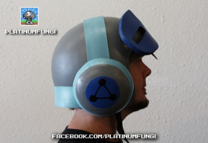 mighty no 9 cosplay beck helmet keiji inafune comcept