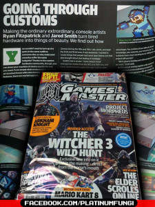GamesMaster UK Magazine platinumfungi console mod case custom mega man tmnt 2014