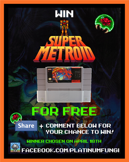 metroid anniversary celebration up first a free copy of super