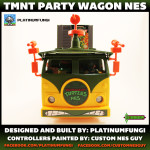 TMNT Party Wagon NES