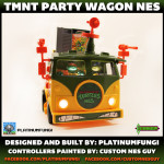 tmnt party wagon nes nintendo turtle van teenage mutant ninja turtles mod platinumfungi custom guy jared guynes 2014 movie anniversary