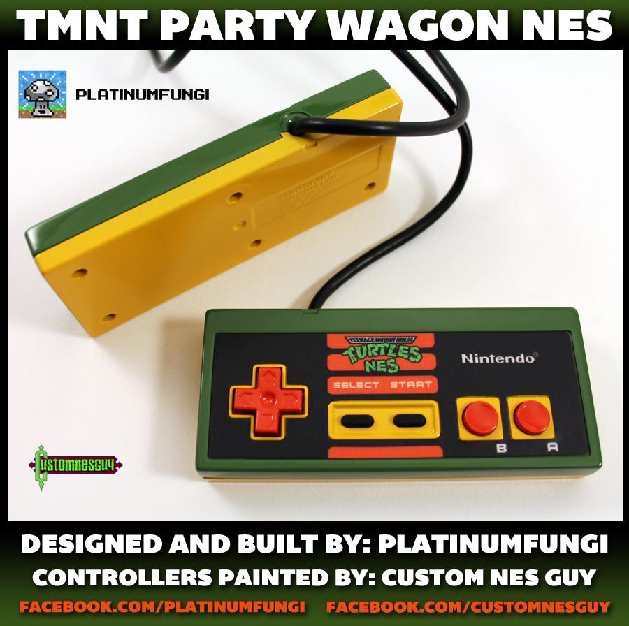 tmnt party wagon nes nintendo turtle van teenage mutant ninja turtles mod platinumfungi custom guy jared guynes 2014 movie anniversary