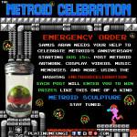 metroid celebration #metroidcelebration hatchling nes nintendo anniversary samus platinumfungi arm cannon power suit helmet