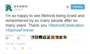 backlit metroid nes celebration #metroidcelebration nintendo hirokazu hip chip tanaka