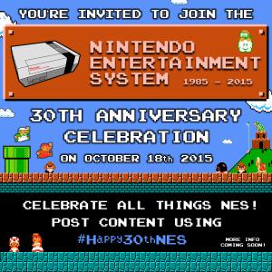 NES 30th Anniversary ann #Happy30thNES nintendo platinumfungi