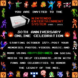 NES 30th Anniversary nintendo #Happy30thNES