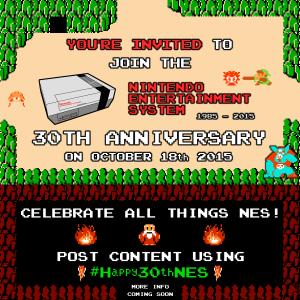 NES 30th Anniversary nintendo ann #happy30thnes platinumfungi Legend Zelda
